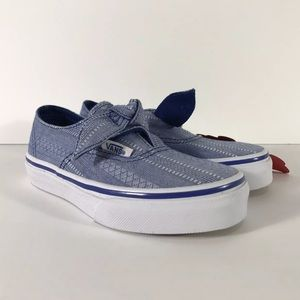 Vans Authentic Knotted Lace Chambray Sneakers